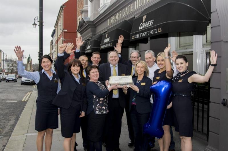 Bishops Gate Hotel First Birthday