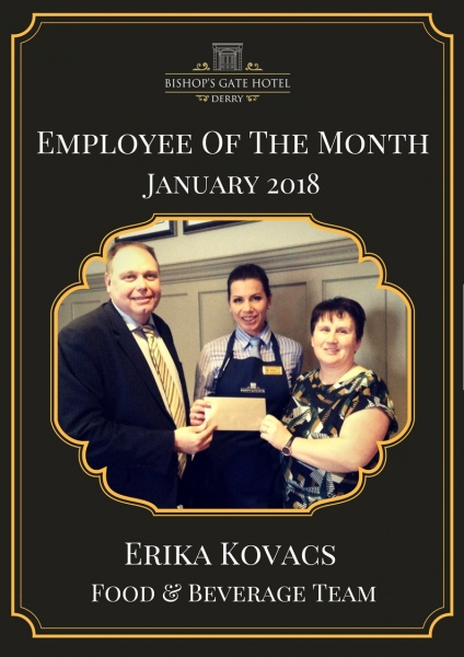 Employee Of The Month Erika Kovacs