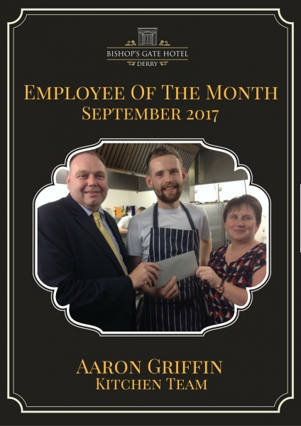 Employee Of The Month September 2017