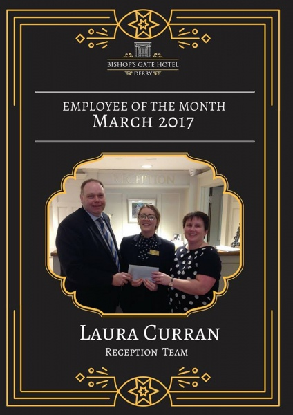 Employee Of The Month Laura Curran