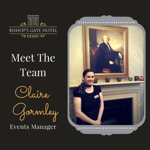 Meet Team Bishops Gate Hotel - Claire