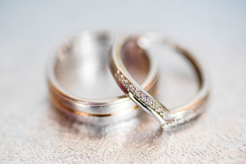 Wedding Rings - Bernard Ward Photography
